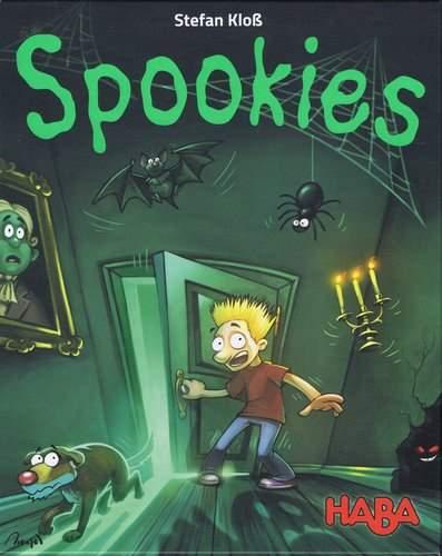 Spookies. Caja del juego