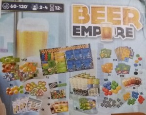 Beer Empire. Componentes