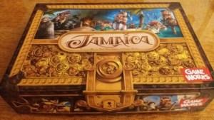Jamaica. Portada del juego