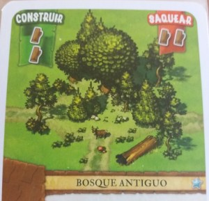 Un colono del imperio. Bosque antiguo