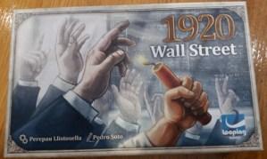 Wall Street 1920. 4 jugadores. 12 y 9 años.