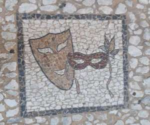 III Jamón Jugón. Detalle del adoquinado de una calle