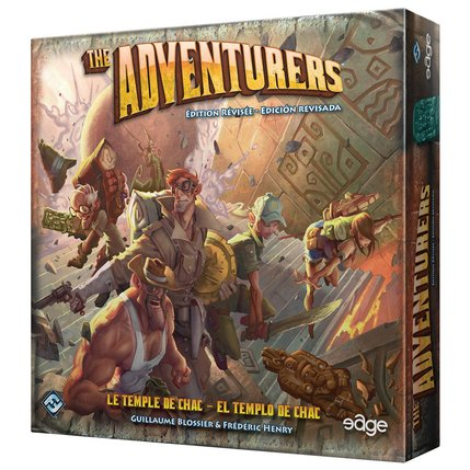 The Adventurers. Caja del juego