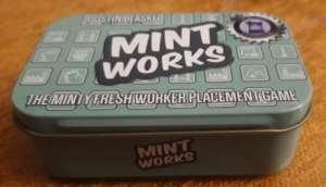 Mint Works. Caja del juego