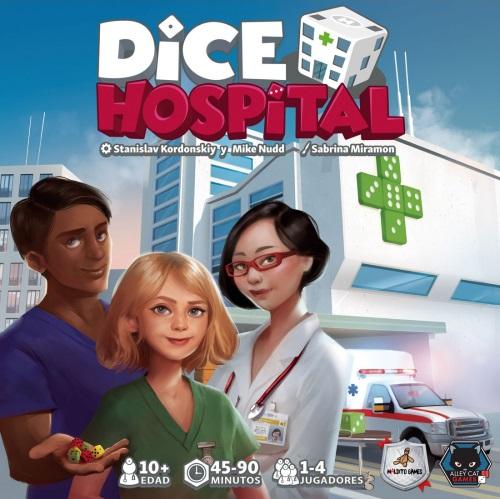 Dice Hospital. Portada