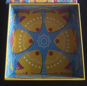 Magic Mandala. Detalle de la caja por dentro