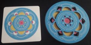 Magic Mandala. Mandala azul