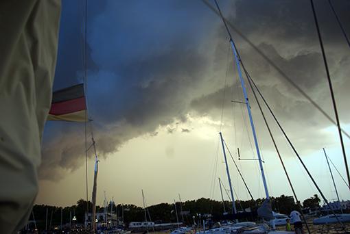 Sehenswerte Wolkenformationen