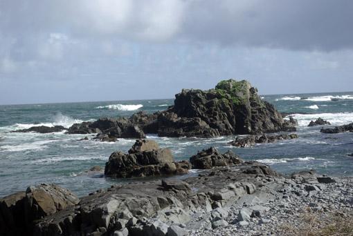 Die wilde Pazifikküste