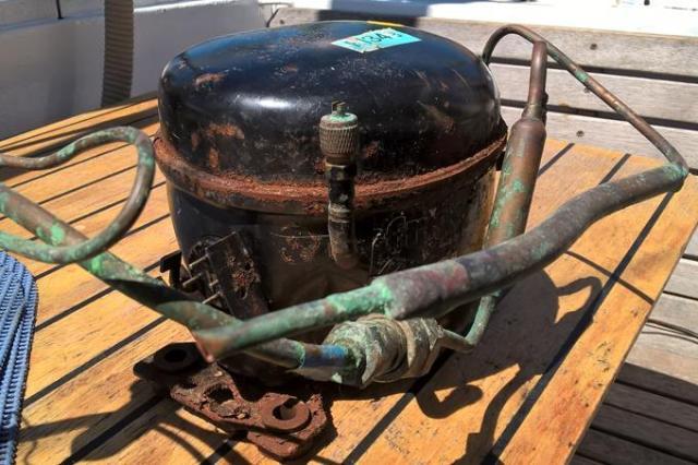 So sieht ein Kompressor aus nach massivem Wasserschlag