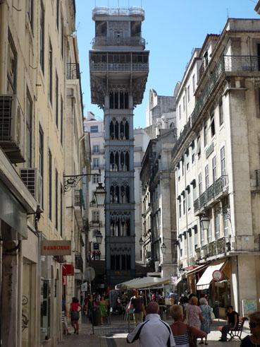 beeindruckender Fahrstuhl in der Altstadt