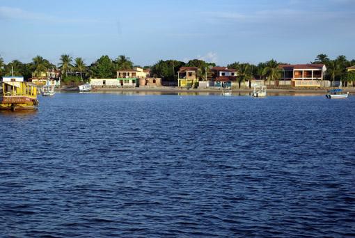 Ansicht von Gamboa vom Ankerplatz