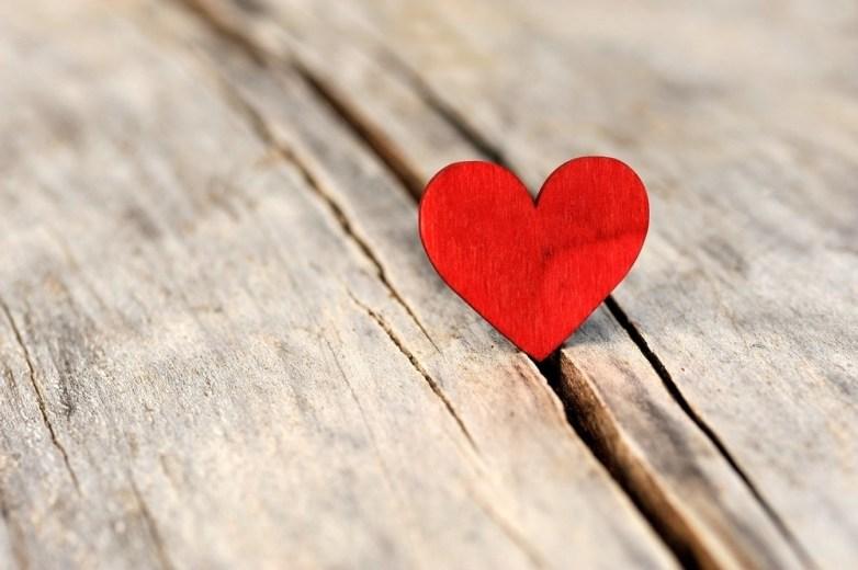 Valentijnsdag hartje