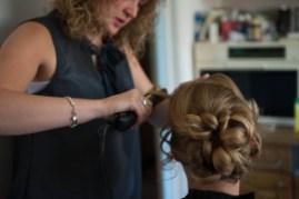 Trouwen bruidskapsels en bruidsmake-up