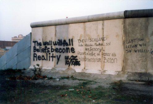 Polen 1986 Berlijn - de muur0001