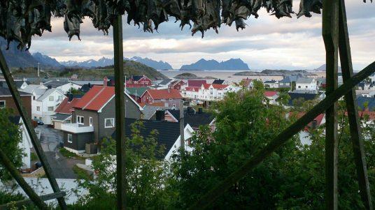 En nog meer stokvis boven Henningsvær