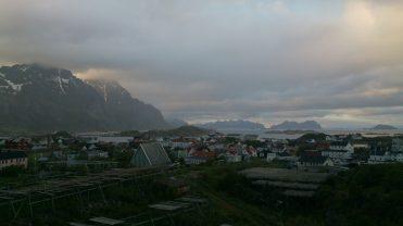 Henningsvær ligt er mooi bij