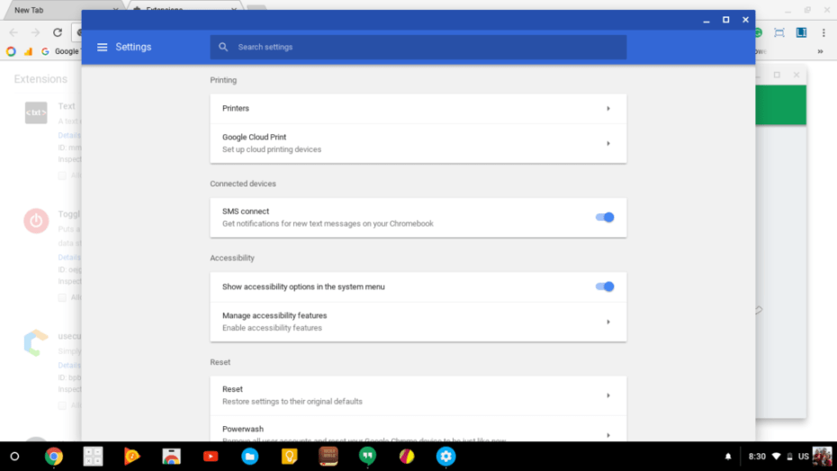 SMS Notifications Coming to Chromebooks