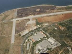 Former airport Maleme Crete