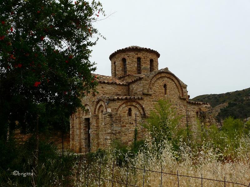 Byzantine church Panagia in Fodele Crete