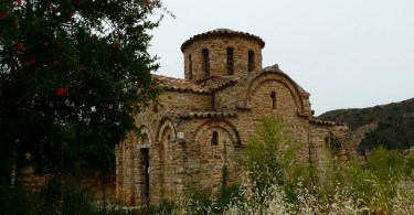 Byzantine church Panagia in Fodele Crete