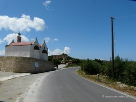 Abandoned village Etia village in Crete