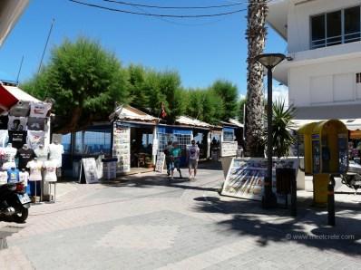 At the eastern promenade in Hersonissos Crete