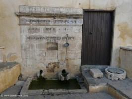 Fountain in Rear Preveli Monastery Crete