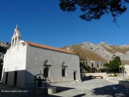 Church in the Rear Preveli Monastery Crete