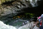 Einstieg in die Diktaion Antron Höhle Lassithi Kreta