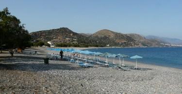 Gramenos beach near Paleochora Crete
