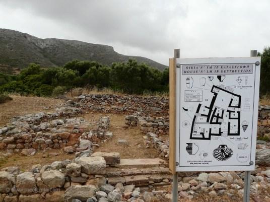 Minoan settlement Palaikastro