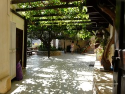 Kapsa monastery - The monastery's central yard
