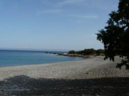 Gramenos beach west of Paleochora