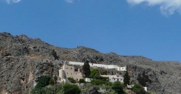 The Kapsa monastery in south east Crete