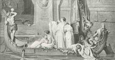 Die Königstochter Ariadne, das Ungeheuer Minotaurus und Theseus