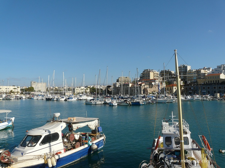 Heraklion city, Crete's capital