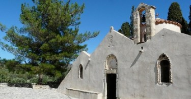 Byzantine church Panagia Kera