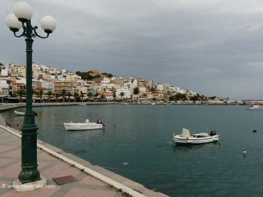 Town Sitia in Lassithi east Crete