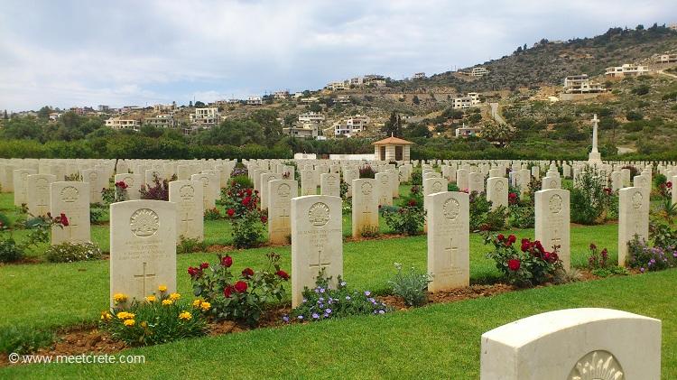 Souda Bay war cemetary Crete