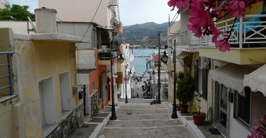 Sitia coastal town of east Crete