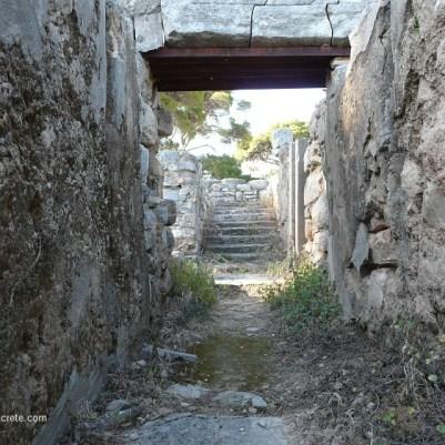 In ancient Tylissos Crete