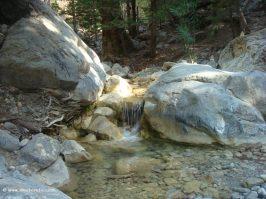Samaria gorge in Crete_water