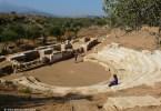 Antikes Aptera - Theather, Aquädukte und Befestigungsanlagen