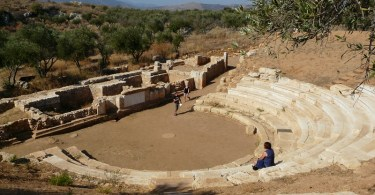 Ancient Aptera in west Crete