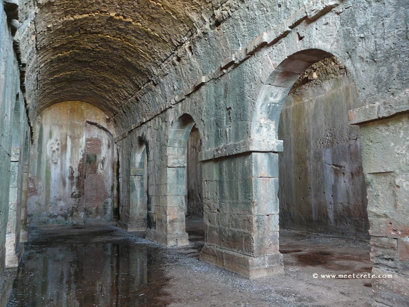 Ancient city Aptera - Roman cistern