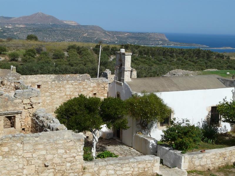 Ancient city Aptera - Monastery St. John Theologos