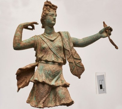 Ancient city Aptera - Goddess Artemis
