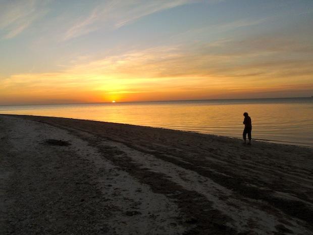 Gullivan Key at sunset