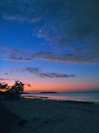 Sunrise at Picnic Key